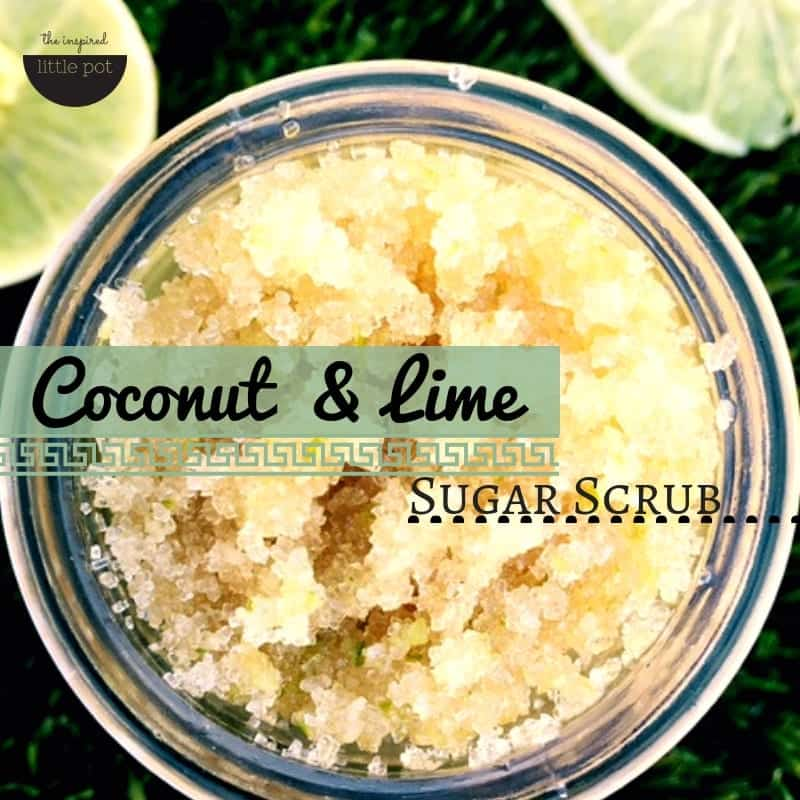 Coconut & Lime Scrub