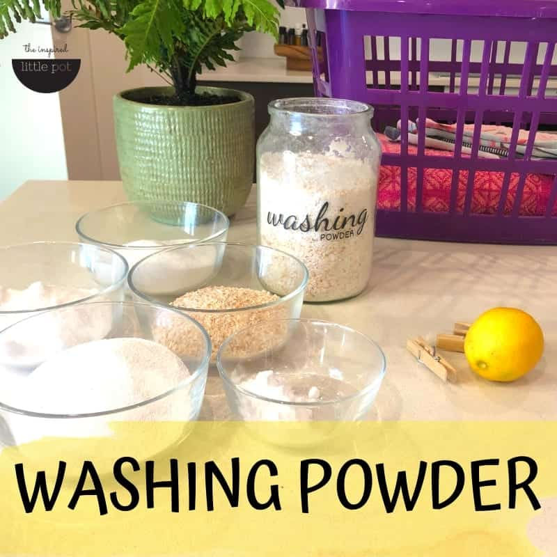 Regular Washing Powder Homemade Natural DIY | The Inspired