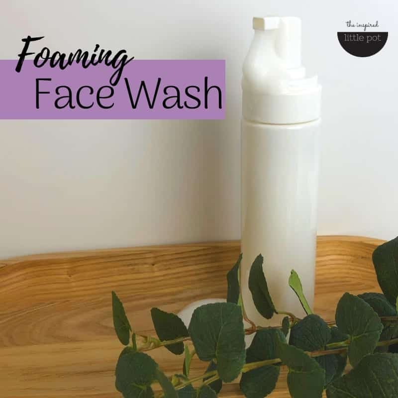Foaming Face Wash Natural Make your own   The Inspired